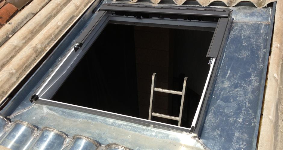 Création fenêtre de toit 06