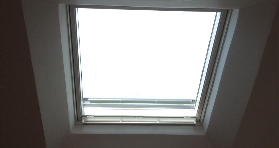 Pose fenêtre de toit 06