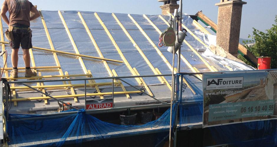 Surélévation toiture 06