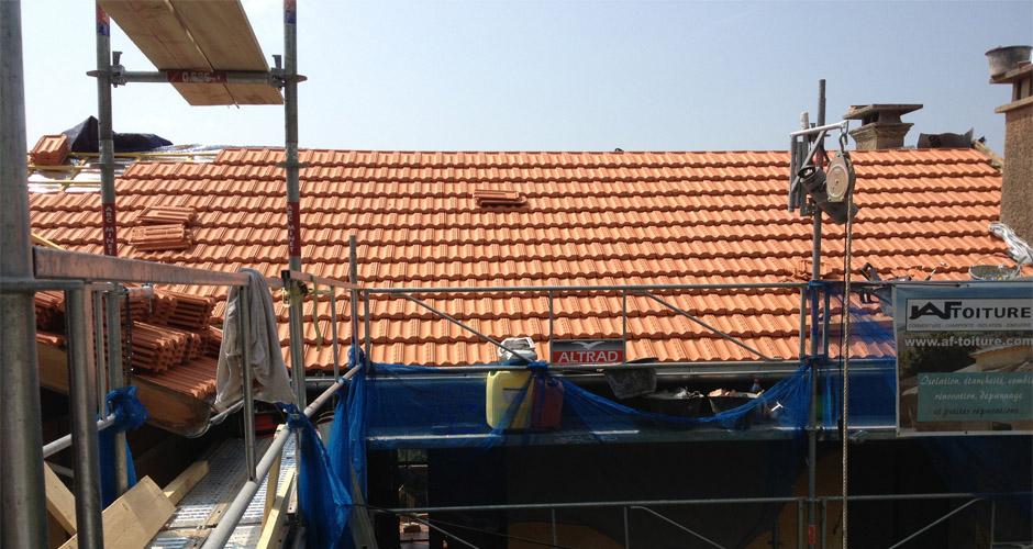 Rehaussement toiture 06