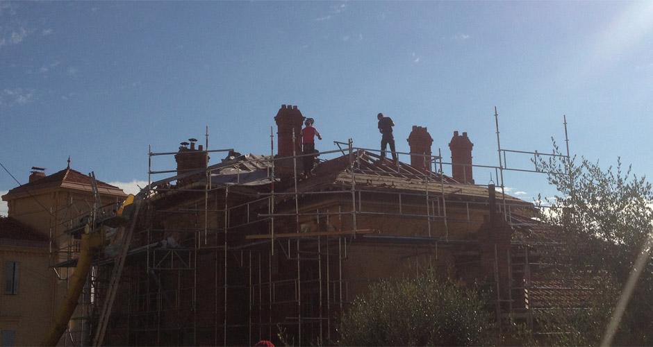 Travaux toiture Cabris