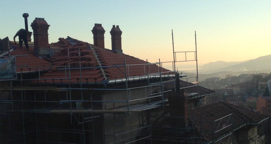 Réparation toiture Cabris