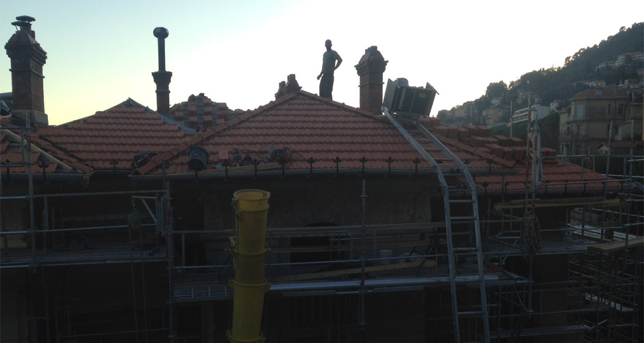 Rénovation toiture Cabris